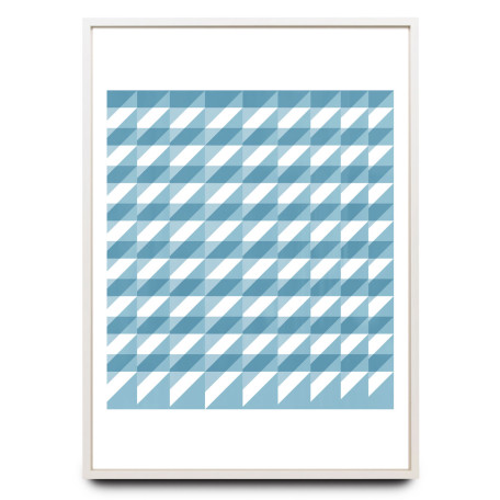 Graphic colour overprints limited edition print