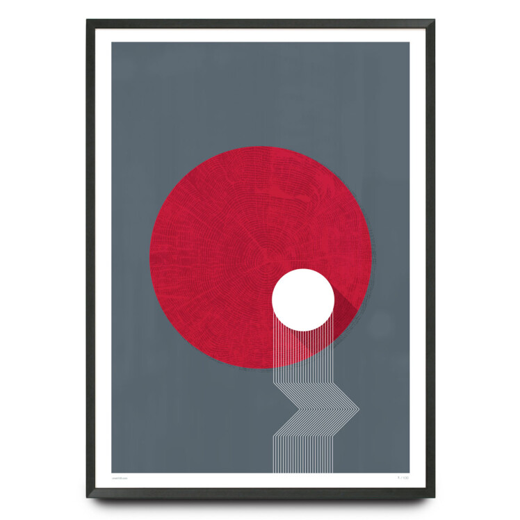 Rings illustration limited edition print