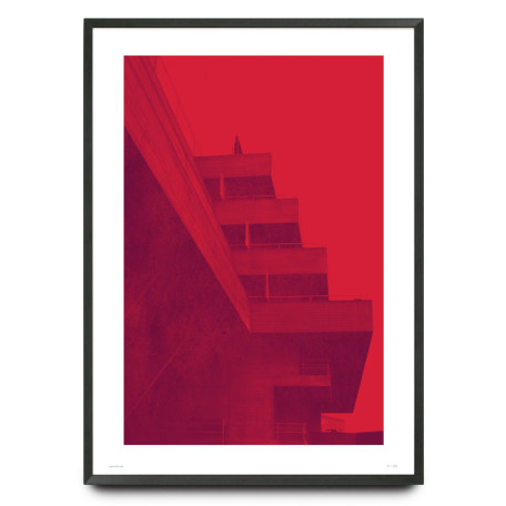 Brutalism National Theatre limited edition print