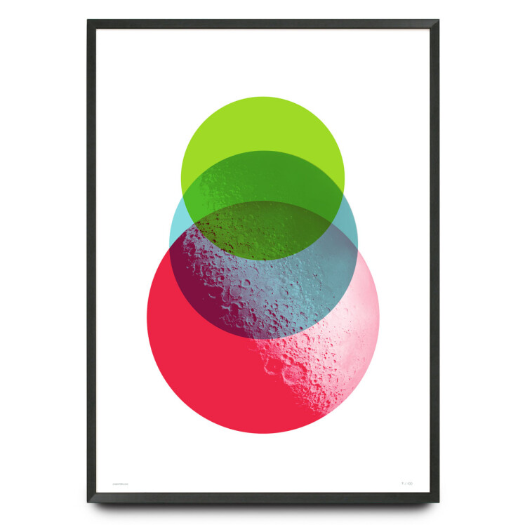 Moondance graphic design limited edition print