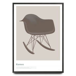 Eames RAR in warm grey
