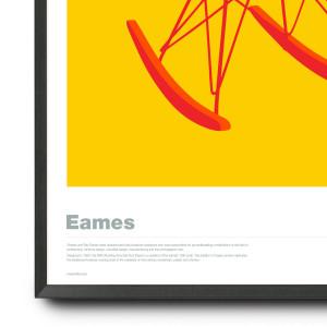 Eames RAR in Red