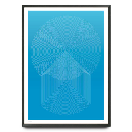Futurism limited edition design print