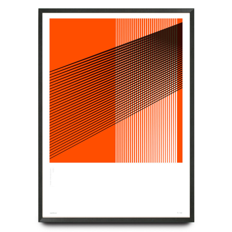Linear intersections Li.03 design limited edition print