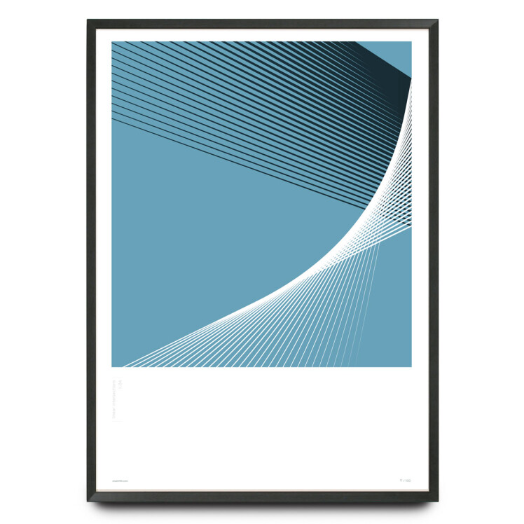 Linear intersections Li.04 design limited edition print